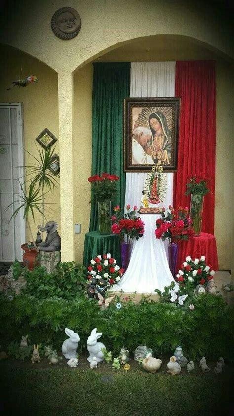 imagenes de altares de novenarios con papel best 25 imagen virgen guadalupe ideas on pinterest