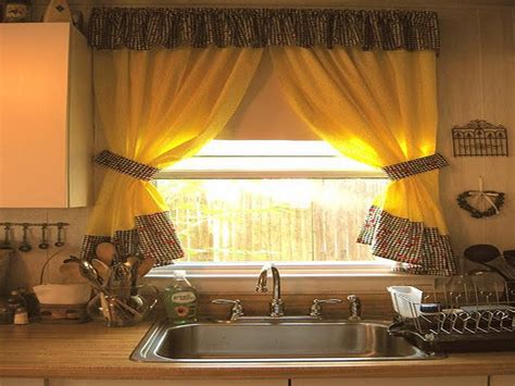 kitchen drapery ideas kitchen curtain ideas for large windows home design blog