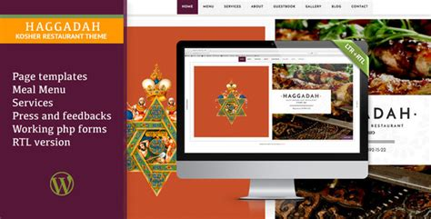 Wordpress Restaurant Tutorial | 30 best responsive wordpress restaurant cafe themes