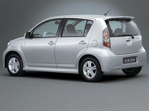 Auto Daihatsu 2015 Daihatsu Sirion Review Prices Specs