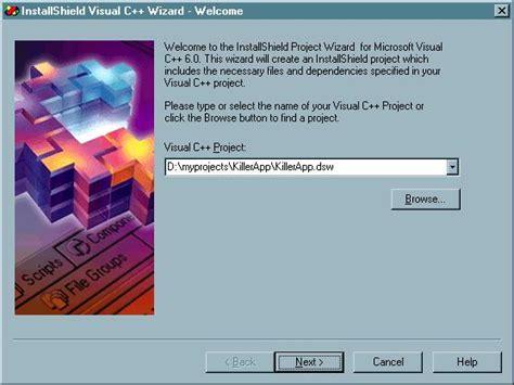 visual studio installshield tutorial simple installshield tutorial codeproject