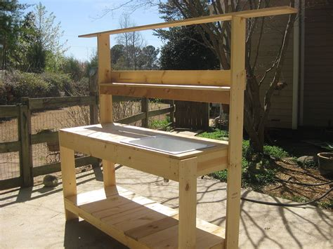 potting bench kit potting bench kits outdoor decorations