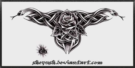 celtic cross with roses tattoo designs tattoos image by kenneth pickett