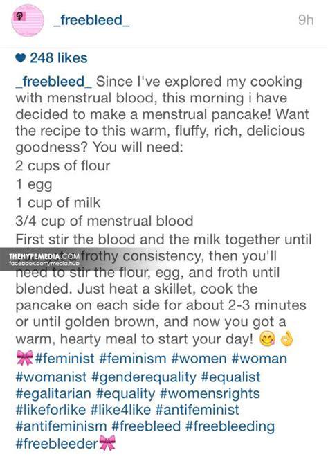 membuat pancake dari darah haid pancake darah haid berita isu panas