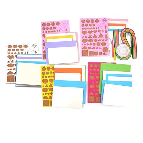 Paper Craft Tool Kit - 1 set quilling paper board template tool kit for diy paper
