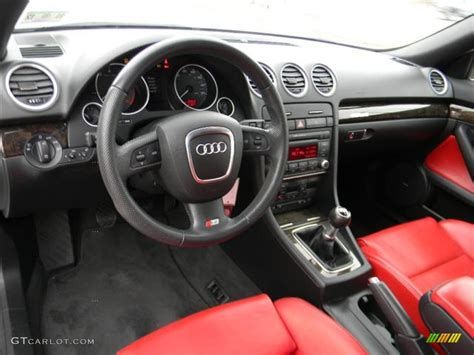 how cars run 2008 audi s4 parental controls 2008 audi s4 4 2 quattro cabriolet red black dashboard photo 59554586 gtcarlot com