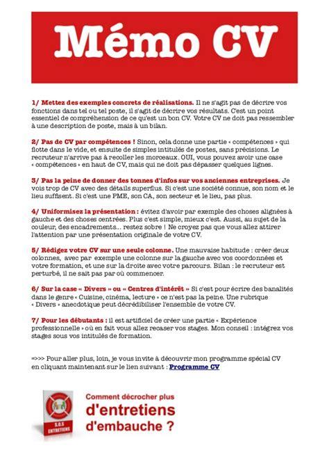 Redaction Cv by R 233 Ussir Cv Conseils De R 233 Daction Le Curriculum Vitae