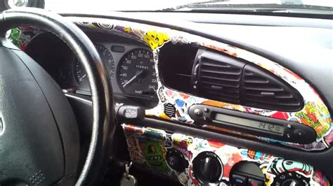 Car Interior Smoke Bomb by Dashboard Flex Some Sticker Bomb D