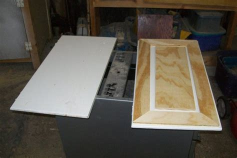 How To Redo Cabinet Doors Faux Raised Panel Cabinet Door Redo By Myfathersson Lumberjocks Woodworking Community