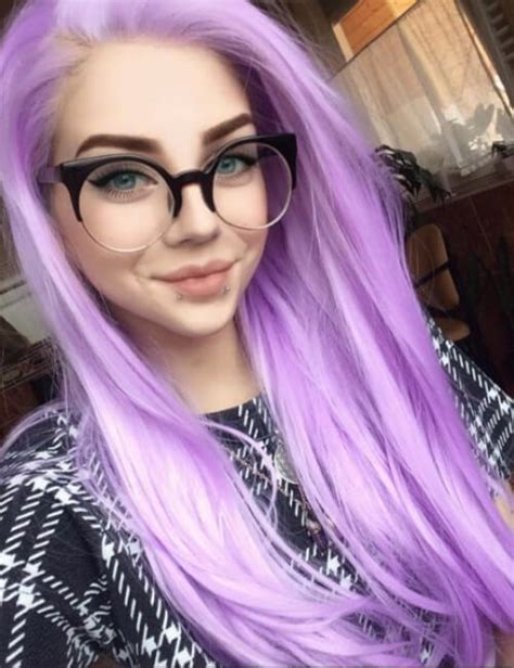pictures of people who colored their hair with loreal feria b16 60 purple hair ideas and hairstyles my new hairstyles