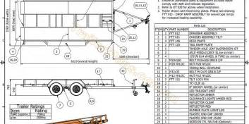 House Blueprint Software flatbed tilt trailer trailer plans