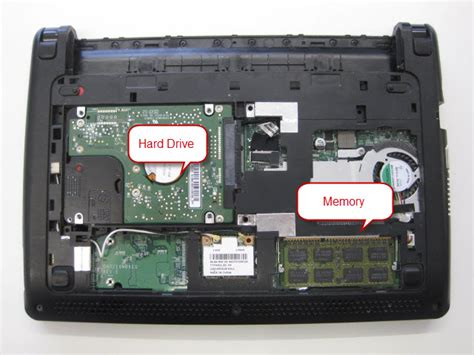 Hardisk Acer Aspire One accessing memory and drive on an acer aspire one d257 busifix computers