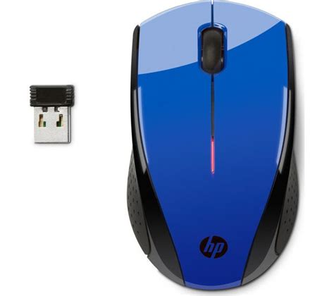 Mouse Hp X3000 hp x3000 wireless optical mouse cobalt blue deals pc world