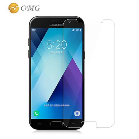 Anti For Samsung Galaxy A5 2017 Tempered Glass Anti omg tempered glass for samsung galaxy a5 2017 a520 5 2 quot anti explosion screen protector for