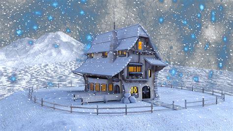 snow home free illustration christmas winter home snow free