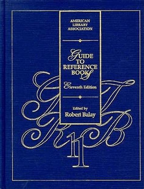 reference book guide guide to reference books by robert balay reviews