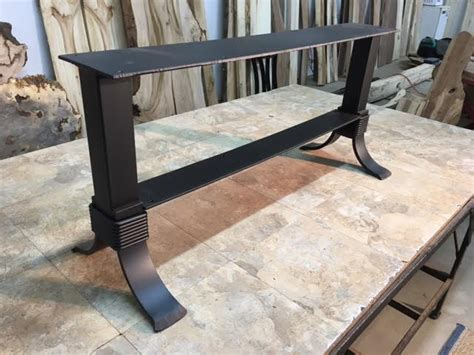 flat iron table legs ohiowoodlands coffee table base steel coffee table legs