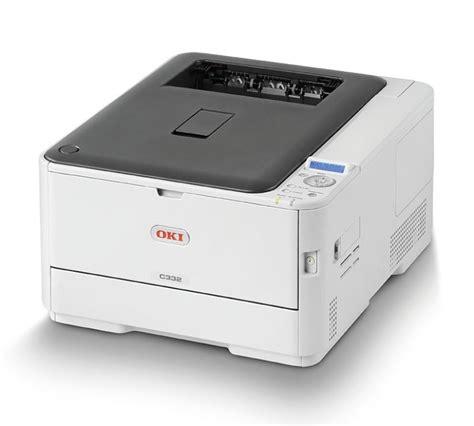 Printer Laser Oki oki c332dn a4 colour led laser printer ebuyer