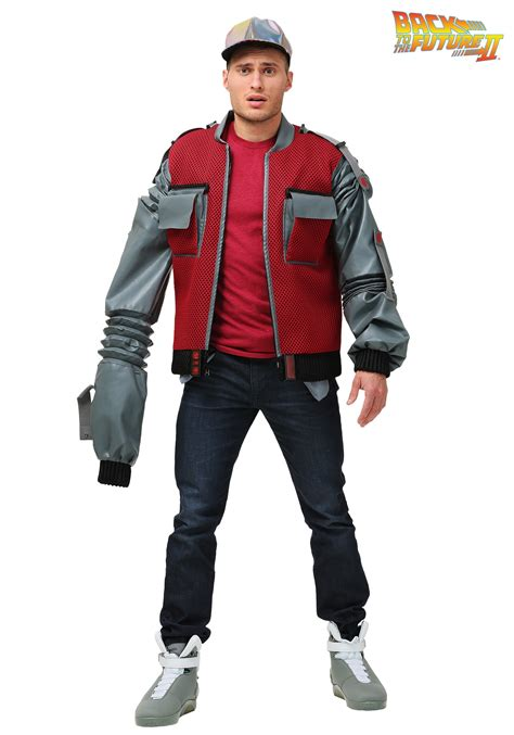 women s marty mcfly costume authentic marty mcfly jacket