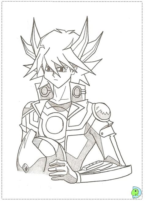 free yugioh monsters coloring pages