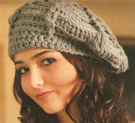 free knitting pattern s knit beret models