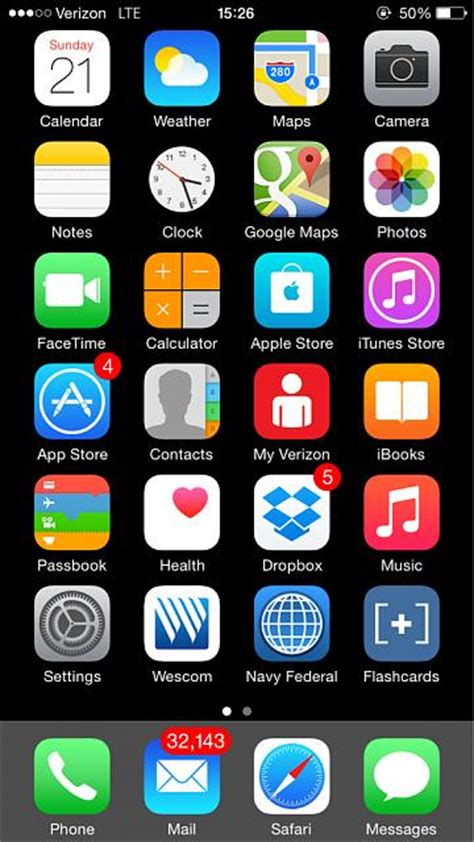 show us your iphone 6 homescreen iphone ipod