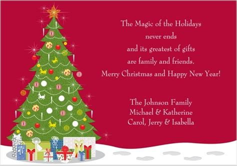 christmas card sayings that would definitely touch the