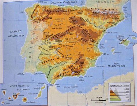 atlas geogrfico de espaa espa 241 a mapa geografico