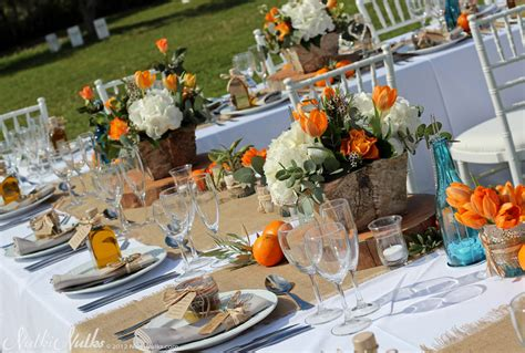 Rustic Wedding Decorations Orange Amp Turquoise Andaluc 237 An Wedding