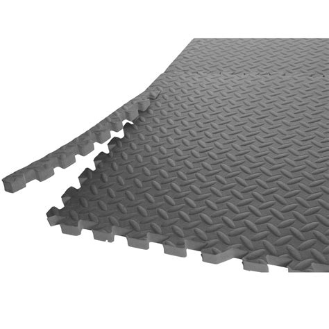 Exercise Rubber Mats Interlocking by Garage Flooring Options Protect Your Equipment And