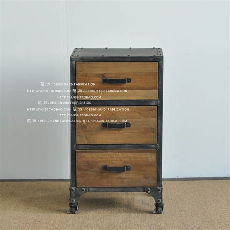 Locker Drawers by Brothers Vintage Wrought Iron Bedside Cabinet Drawer