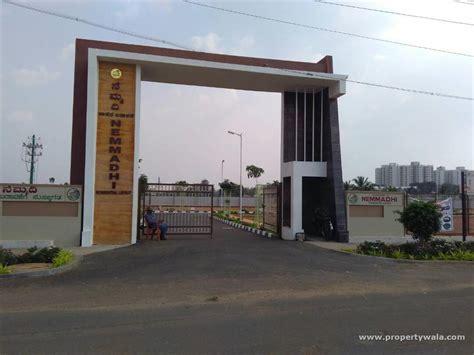 nisarga layout jigani house for rent aashrithaa nemmadhi township jigani bangalore