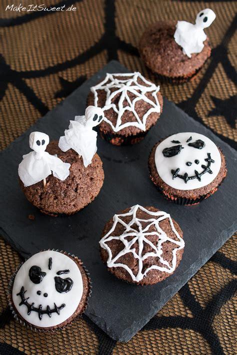 einfach halloween muffins dekorieren makeitsweetde
