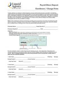 Bank Letter Instead Of Voided Check Direct Deposit Authorization Form Banks America