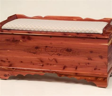 cedar chest bench seat large cedar chest with seat rail carriage house furnishings