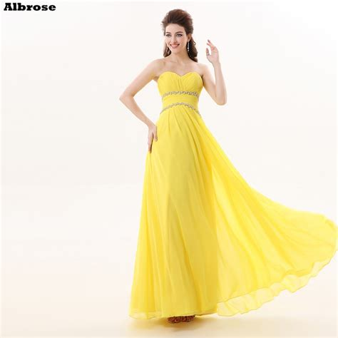 cheap simple yellow bridesmaid dresses crystal pleat