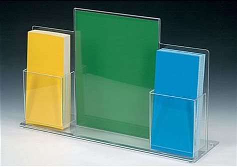 Acrylic Display Brosur acrylic brochure display 8 5 x 11 countertop stand of plastic
