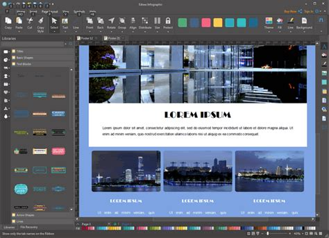 poster layout software poster design software create custom poster with ease