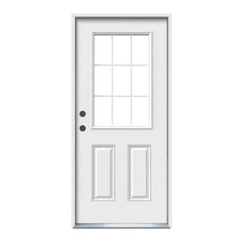 Home Depot Canada Doors Exterior Jeld Wen Windows Doors 32x6 9 16 9 Lite Entry Door Rh Home Depot Canada Toronto
