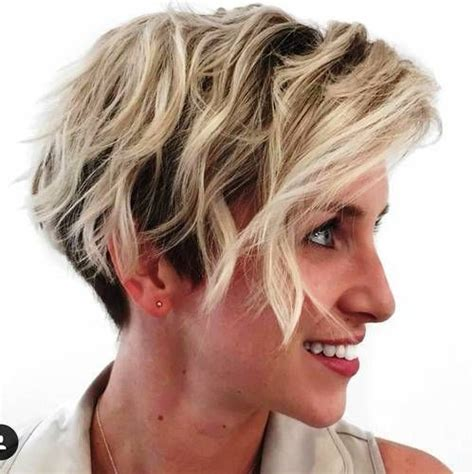 edgy pixie brown with blonde highlights 168 best short haircuts images on pinterest pixie cuts