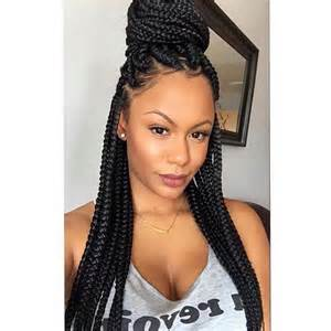 medium box braids with human hair how to braid your hair with box braids articlecube