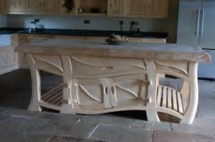 handmade kitchens real bespoke kitchen island beautiful curved specialist