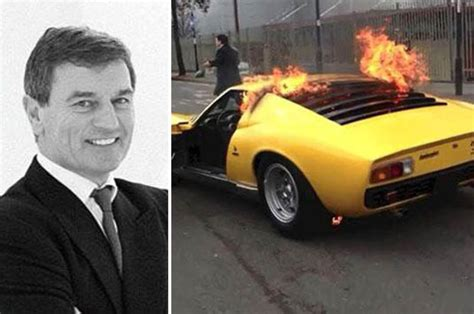 Lamborghini Founder Foxtons Founder S Lamborghini Goes Up In Flames Daily