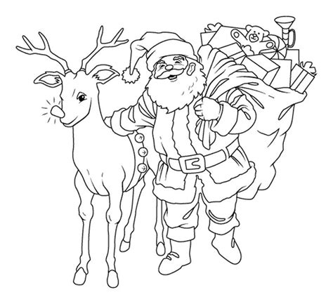 coloring pages of santa s 9 reindeer download santa s reindeer coloring pages free or print