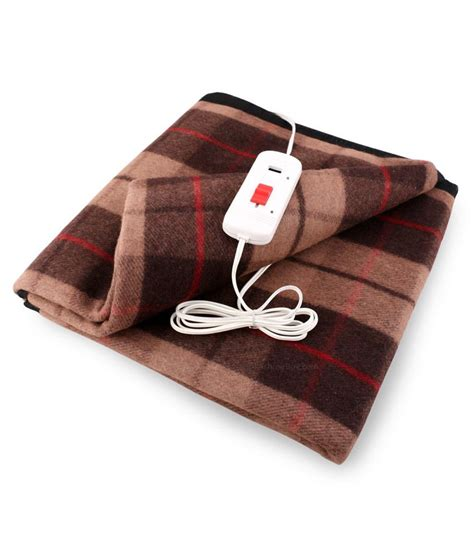 Cost Of Using Electric Blanket by The Chinar Cozy Electric Blanket Buy The Chinar Cozy