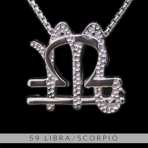 libra scorpio cusp tattoo designs 59 libra and scorpio silver unity pendant 99 99 via