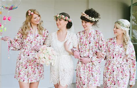 Wedding Dressing Gowns by Pretty Bridal Robes And Gorgeous Dressing Gowns For The