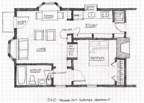 shop apartment plans small scale homes floor plans for garage to apartment conversion