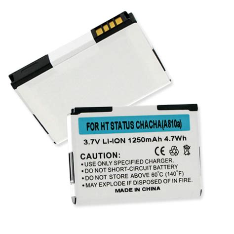Battery A 1281 battery for htc status htc cell phone batteries