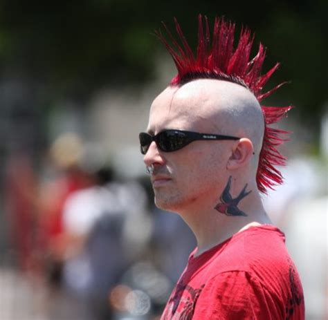 spikey mohawks 30 stylish crazy hairstyles for brave men pure art